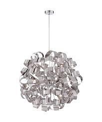 ribbon pendant ceiling light quoizel rbn2831 ribbons 31 inch wide 12 light large pendant