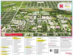 Usa Campus Map by East Campus Map University Of Nebraska Visitor Guide
