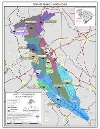 Columbia Sc Map Saluda Reedy Watershed Maps