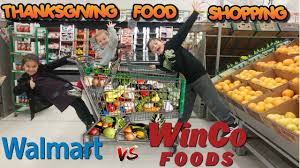thanksgiving shopping list is walmart the cheapest