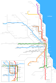 Crime Map Of Chicago by Chicago Metro Map U2022 Mapsof Net