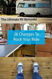 135 best rv renovations images on pinterest vintage trailers