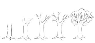 the one on how to draw an easy tree landscape