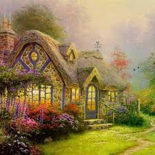 500 best kinkade artwork images on beautiful