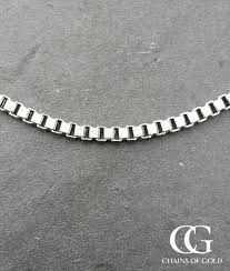 gold box chain bracelet images Men 39 s chunky box chain necklace in 9ct white gold 20 quot jpg