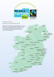 Map Of Germany With Cities And Towns In English by Top 10 Facts About The Fairtrade Movement In Ireland
