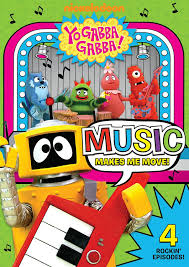 Yo Gabba Gabba Images by Amazon Com Yo Gabba Gabba Music Makes Me Move Lance Robertson