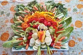 how to make a thanksgiving turkey veggie tray finding zest