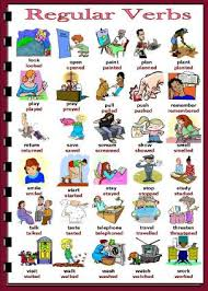 simple regular verbs
