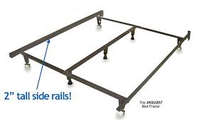 Side Bed Frame Heavy Duty Metal Bed Frame Universal Size