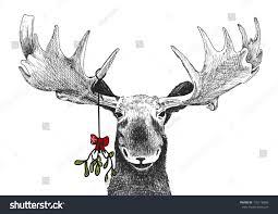 fun christmas tradition kiss under mistletoe stock vector