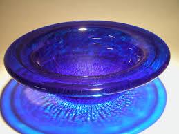 crackled cobalt glass vessel bathroom sink artisan crafted home
