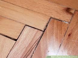 Replacing Hardwood Floors How To Repair Cracks In Wood Floors 8 Steps With Pictures