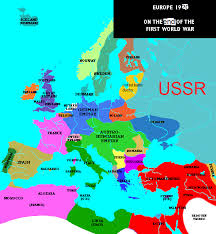 post ww1 map central powers win wwi maps and ideas alternate history discussion
