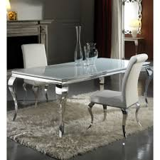 chrome dining room sets chrome dining room chairs
