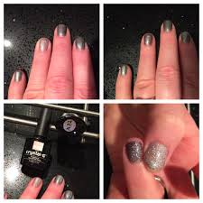 christmas sparkle plain grey is bluesky gel a32 the glitter is