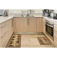 Amazoncom AntiBacterial Rubber Back Home And KITCHEN RUGS Non - Kitchen sink rug