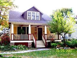 Bungalow House Plans With Porches by 14 Best Arts U0026 Crafts Bungalow Homes Images On Pinterest