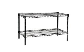 White Wire Shelving Unit by 12