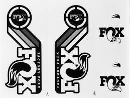 fox motocross forks fox racing shox heritage fork and shock decal kit 2015 new ebay