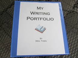writing portfolios theroommom