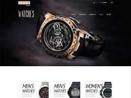 watches free responsive bootstrap ecommerce template freemium