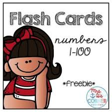 Flashcards Numbers 1 100 Number 100 Clipart Collection