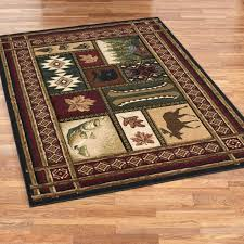 Lodge Style Area Rugs Impressive Area Rugs Fabulous Rustic Rug Country Runners Wildlife