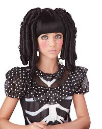 Babydoll Hair Extensions by Baby Doll Curls Child Costume Wig Black Ebay