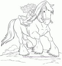 disney movies coloring pages horse angus coloring pages