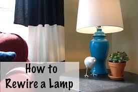Rewiring A Chandelier by Rewiring A Lamp Diy Project Aholic