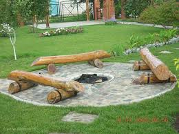 Firepit Benches Log Bench Pit Home Sweet Home Pinterest Log Benches Pit