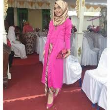 model baju kebaya muslim model kebaya muslim warna pink modern 350x350 jpg 350 350