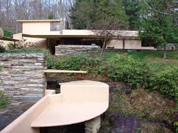 fallingwater pictures guest house from main house frank lloyd