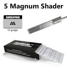 tattoo needles 5 magnum shader 50 pack