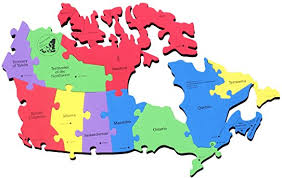 canadian map capitals map of canada provinces and cities canada map puzzle canada