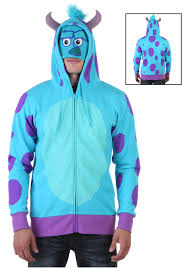 sully costume monsters sulley hoodie costumes