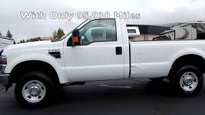 Ford F250 Plow Truck - used 2009 ford f 250 xl regular cab 4x4 snow plow package near