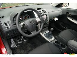 2010 Corolla Interior Dark Charcoal Interior 2013 Toyota Corolla S Photo 71473412