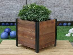 Walmart Planter Box by Grapevine Square Urban Garden Recycled Wood Planter Box Walmart