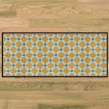 tapis de cuisine orange tapis de cuisine côté paillasson