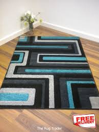 Turquoise Brown Rug Turquoise And Gray Area Rug Creative Rugs Decoration