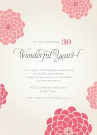 anniversary party invitation template cimvitation