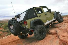 spyder jeep poison spyder brawler bumpers and rockers armor up sgt rocker