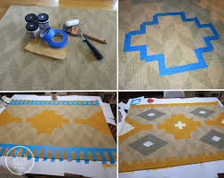 Make Your Own Outdoor Rug by Best 25 Paint A Rug Ideas On Pinterest Painting Rugs Paint Rug
