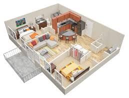 What Are Floodplans by 1 U0026 2 Bedroom Loft Apartments In Atlanta Mariposa Lofts
