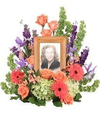 florist baton bittersweet twilight memorial memorial flowers frame not included