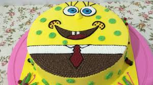 sponge bob cake spongebob cake easy unique how to make