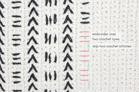 Free Kitchen Embroidery Designs Mud Cloth Crochet Pillow Pattern Free Pattern Make U0026 Do Crew
