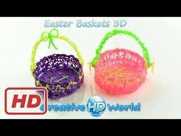 27 best 3doodler creations by 3doodler easter basket 3d how to tutorial 3d printing pen diy